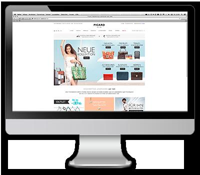PICARD-Lederwaren Onlineshop