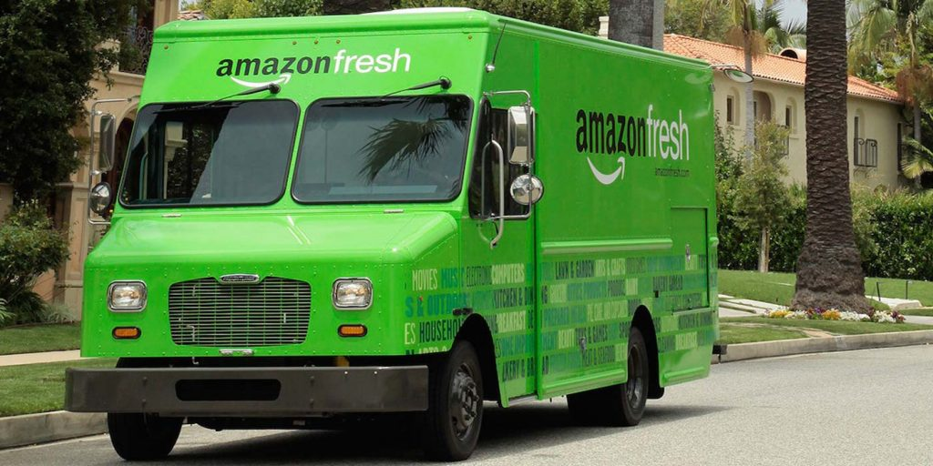 Amazon will seinen Lebensmitteldienst Amazon Fresh in Deutschland positionieren.