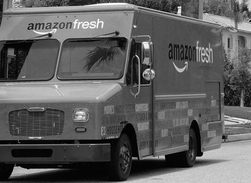 Amazon Fresh - DHL ist angeblich als Logistik-Partner mit im Boot.