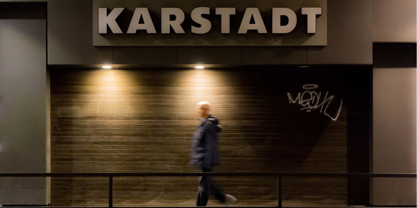 Mietet der Onlinehandel bald Ladenfläche bei der Kette Karstadt?