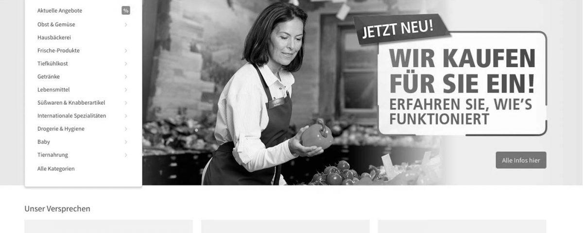 Lebensmittel können nun auch bei Real online bestellt und lokal abgeholt werden.