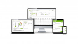 gaxsys system Screens Mobile Devices und Monitor Beispiel